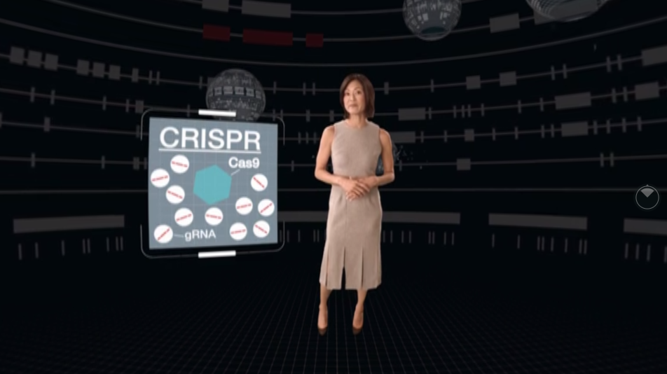VIRTUAL REALITY We take you inside a cell and immerse you in the experience of it being rescued by CRISPR using VR. Bio-Rad premiered it at Interphex 2017. Experience it in 3D →