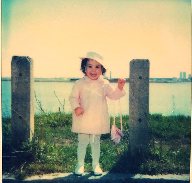 Just a girl, growing up and falling in love with Eastie!
