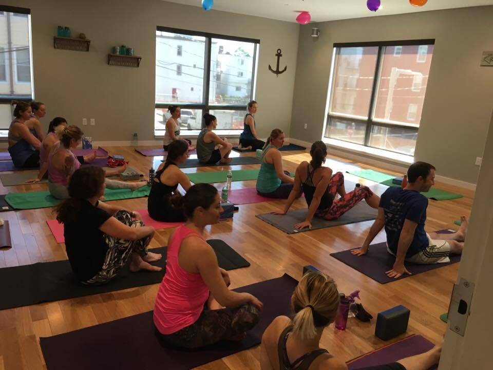 One of our first classes ever - a full house!!