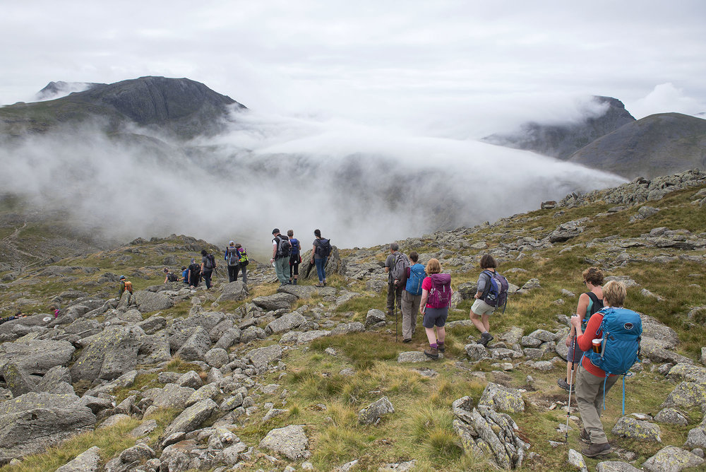 Glaramara Descent to Allen Crags and Rolling Cloud on Seathwaite Fell ds.jpg