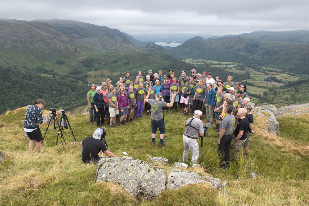 Singing and Filming on Thornythwaite Fell ds.jpg