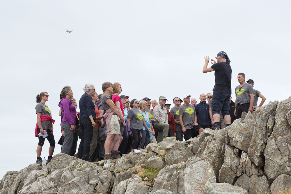 Singing at Glaramara Summit and Drone ds.jpg