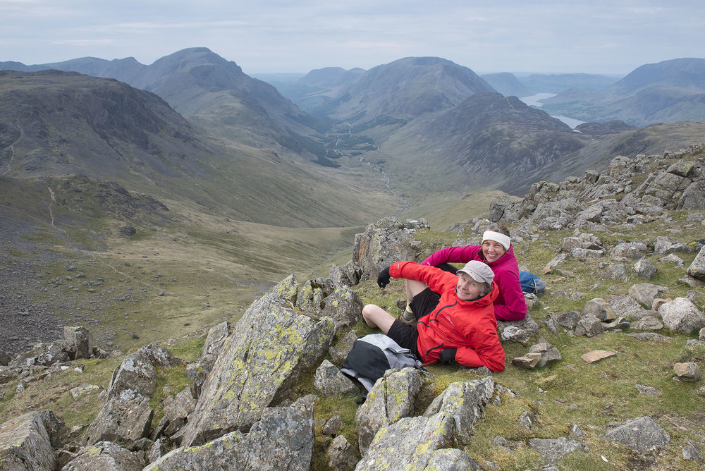 Having a Breather On Green Gable above Ennerdale ds.jpg