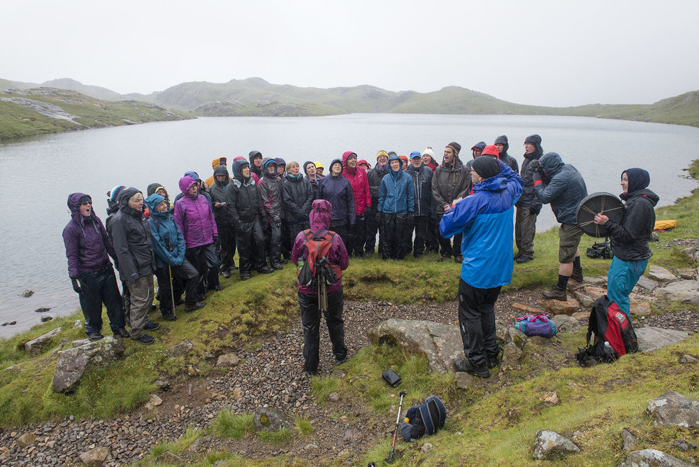 Singing at Sprinkling Tarn ds.jpg