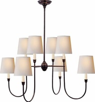 Vendome iron Chandelier