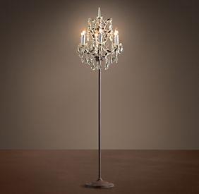 Rococo Floor Lamp ~$1,145
