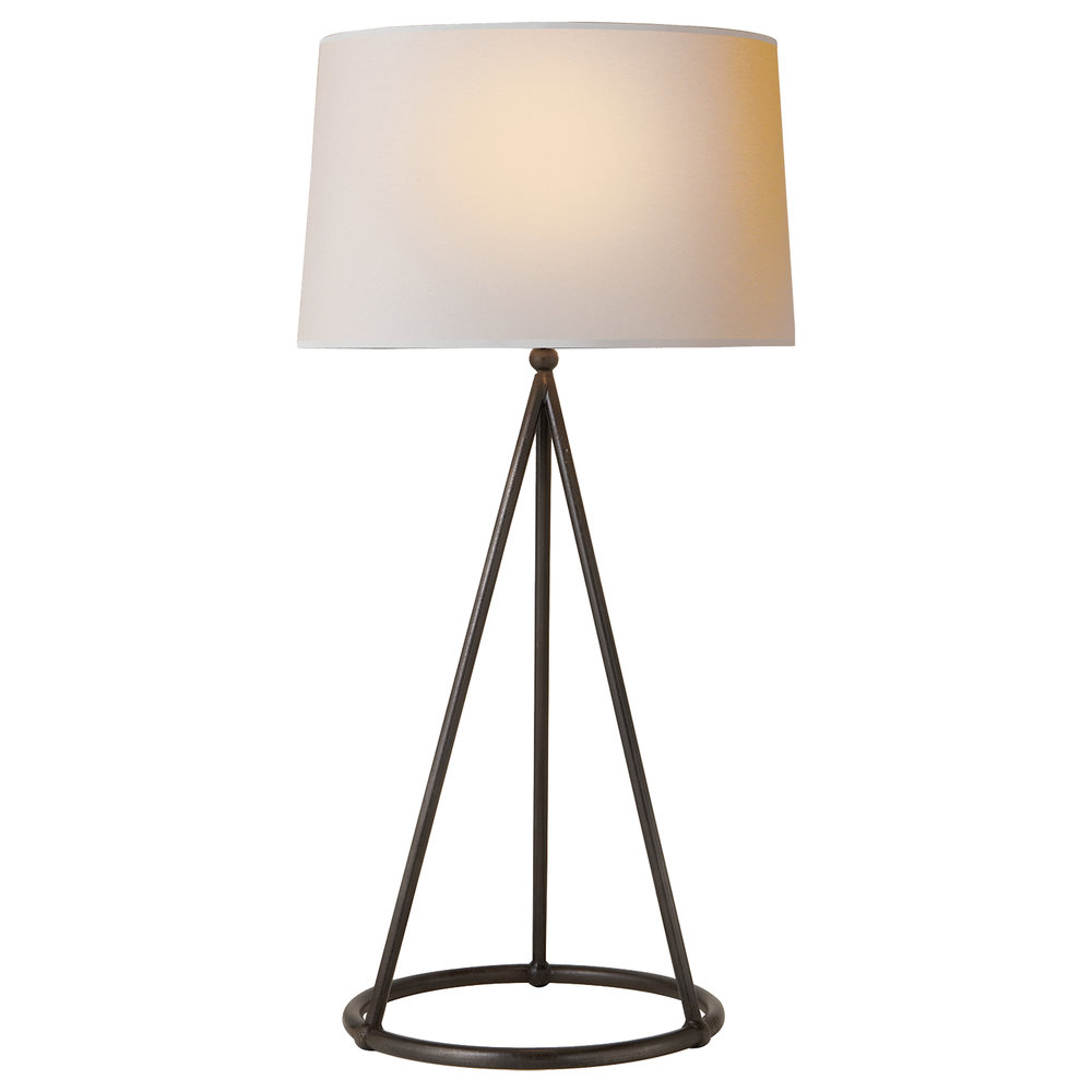 Nina Tapered Iron Table Lamp ~$231
