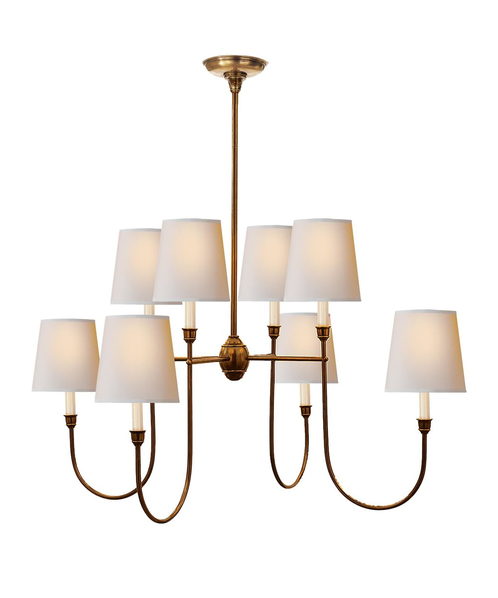 Vendome Iron Chandelier ~$945
