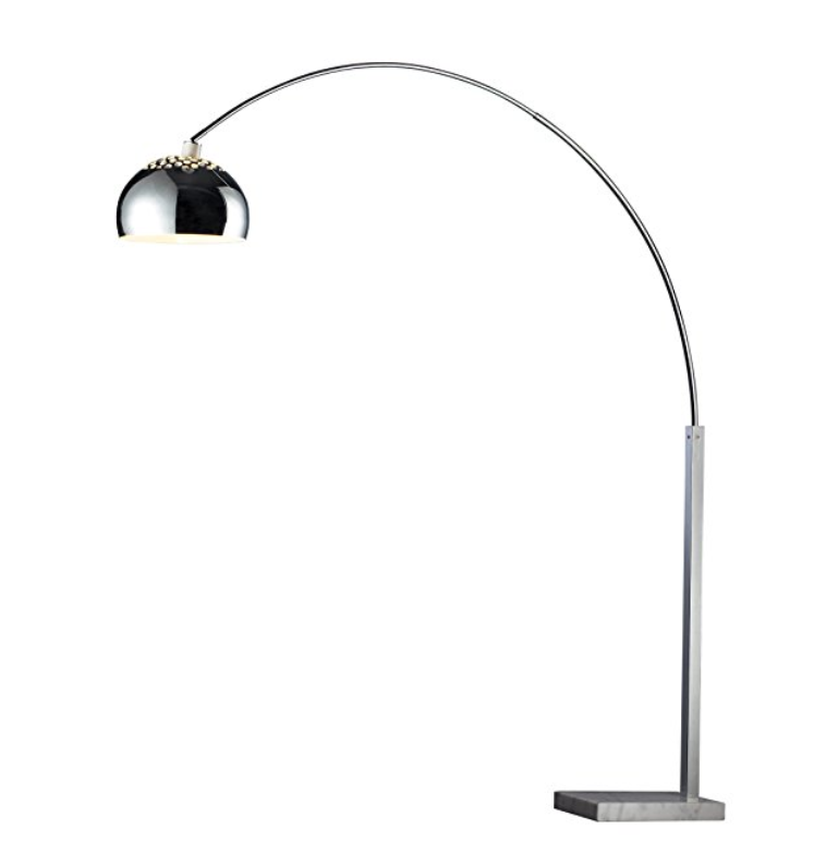 Silver Arc Floor Lamp ~$358