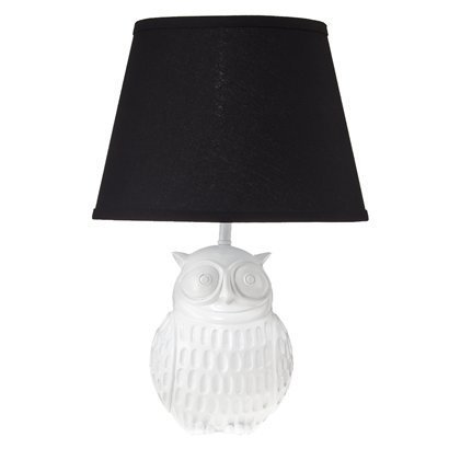 Resin Owl Table Lamp ~$40