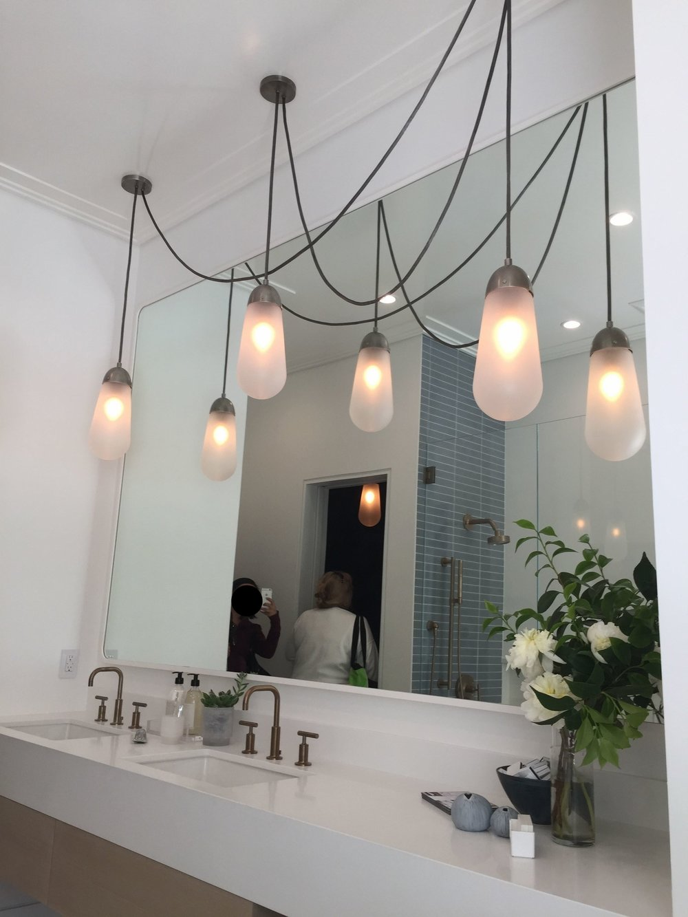 SF Decorator Showhouse Bathroom Lighting