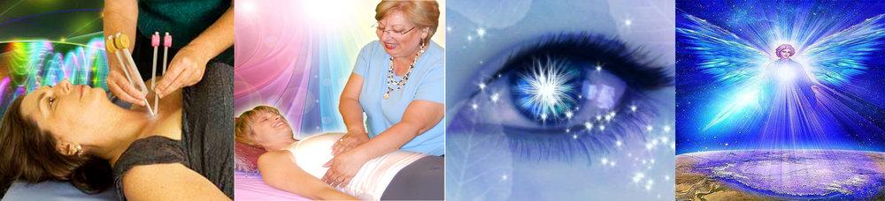 Sound healing                Energy Balancing              Spiritual Readings               Angelic Healing