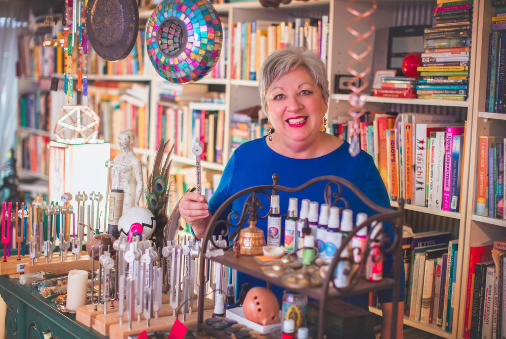 Acoustic Balancing - Sue creates evolution of your aura working with a variety of traditional and modern tools: Tibetan Bowls, Quartz Bowls, Tuning Forks, Rattles, Drums, Chimes. Each is tailored specifically for your needs. As a trained shaman and healer she uses the tools to draw in allies and powerful forces in a direct masterful impact for you.