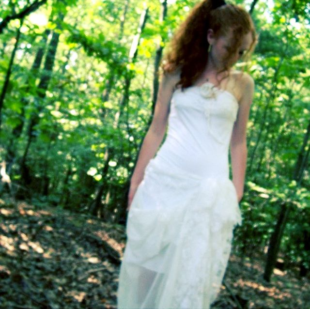 Looking back at my first wedding gowns #woodland #rustic #weddings #mountains #oneofakind #ooak #adrienne #indiebride #bohobride
