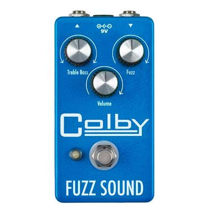Colby Fuzz Sound™ ヴィンテージファズトーン