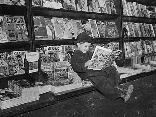 Abe Sherman's Newstand  (1898-1987) -  http://www.baltimoreorless.com