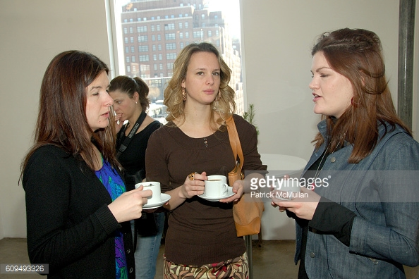 Carlene Higgins (left); Judith Ritchie (centre); Jill Dunn (right), circa 2007
