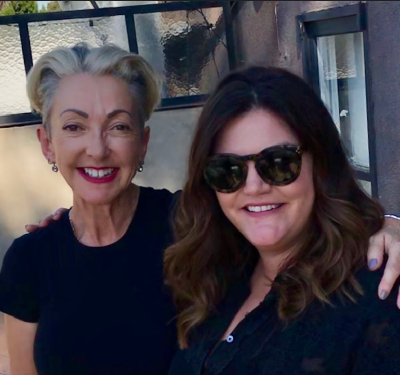 Dermalogica Founder Jane Wurwand with Breaking Beauty's Jill Dunn