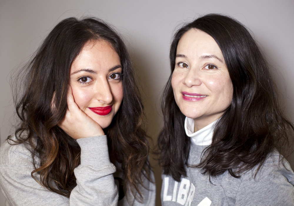 Fashion Magazine beauty editor  Souzan Michael  (left) and beauty director  Lesa Hannah  (right)