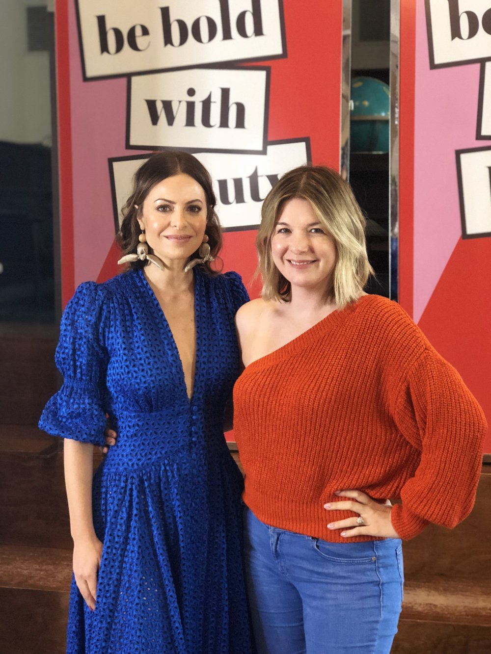 Girl Boss Founder Sophia Amoruso with Breaking Beauty's Carlene Higgins
