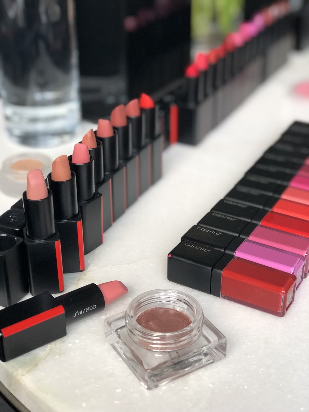 Shiseido's new & improved makeup collection
