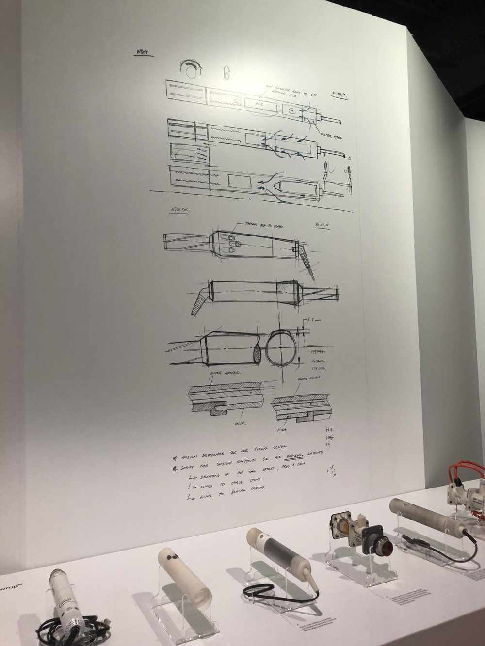 Original design drawings for the AirWrap