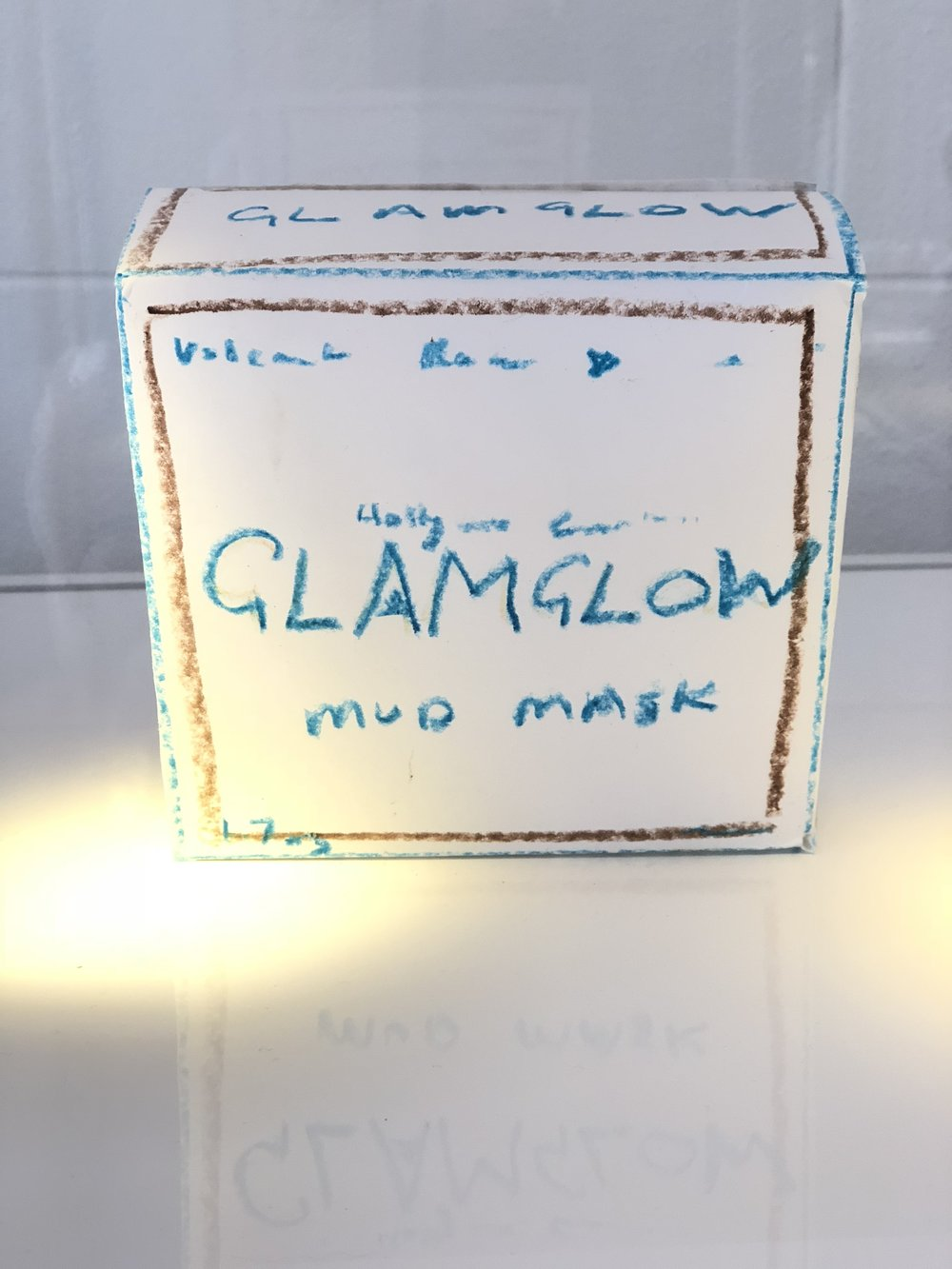 An early packaging prototype courtesy of Shannon and Glenn Dellimore's daughter