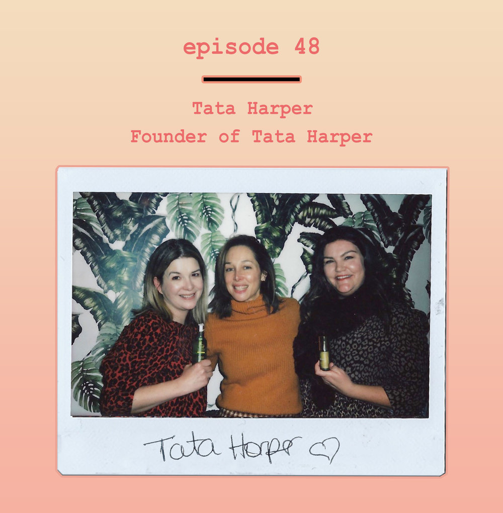 Tata Harper Breaking Beauty Podcast