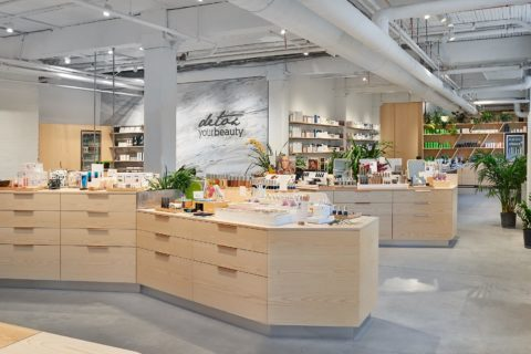 The Detox Market's new Toronto flagship on Spadina Ave.