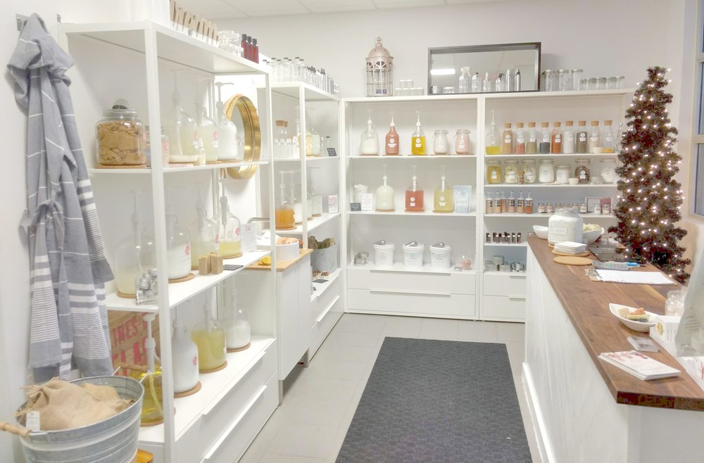 Eco + Amour Zero Waste Re-Fill Store in Toronto