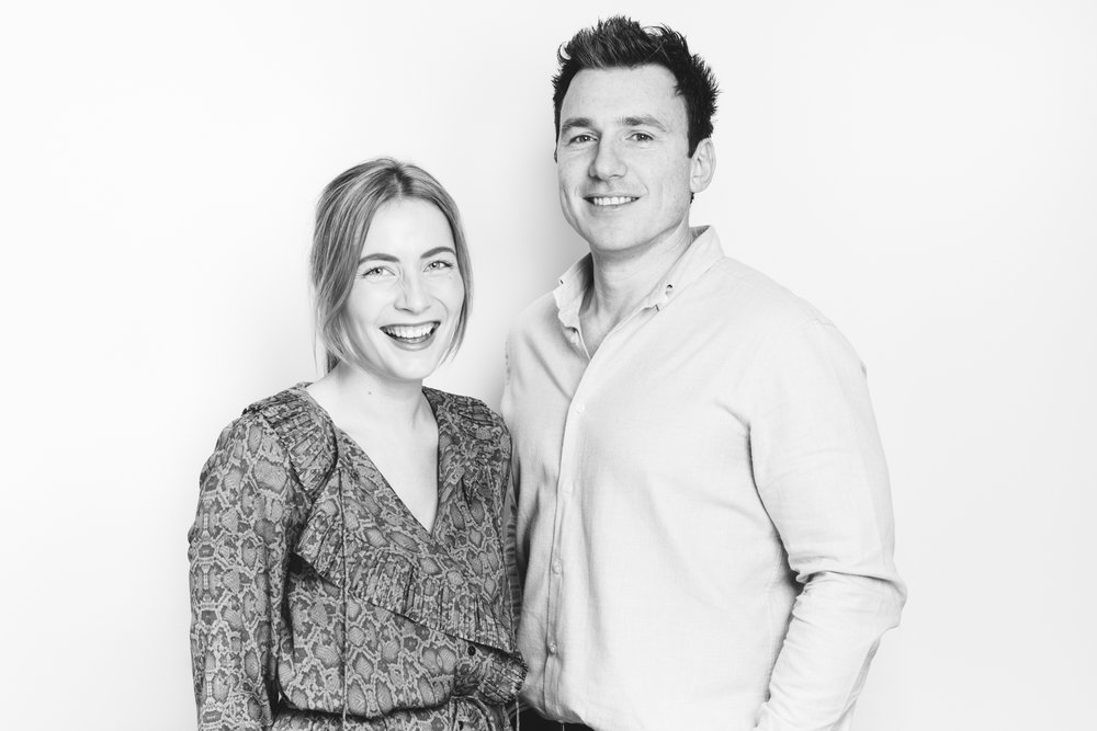The Inkey List Founders Colette Newbury and Mark Curry
