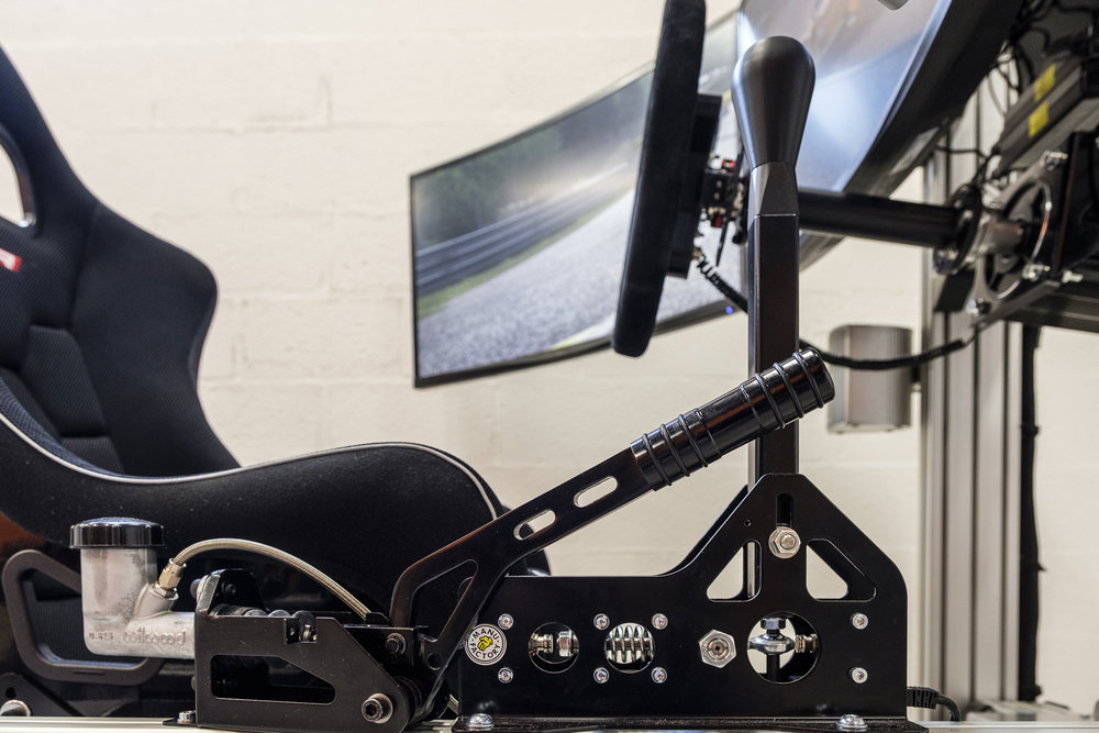 Hydraulic handbrake and sequential shifter