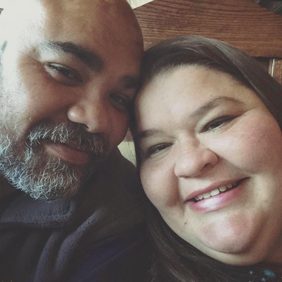 Deborah with husband, Mike.