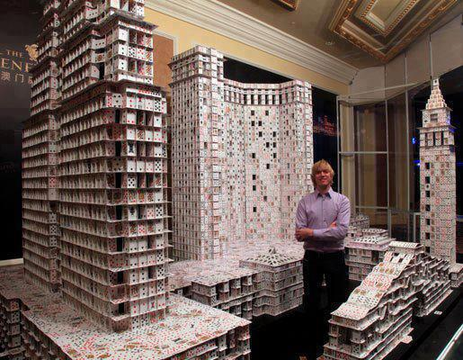 GuinNess World Records Tallest house of cards 2007