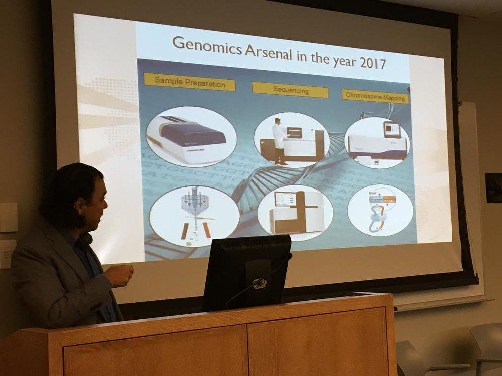 Nezih Cereb MD,CEO, Histogenetics -Advances in Genomic Technologies in Research as the Foundation for Precision Medicine