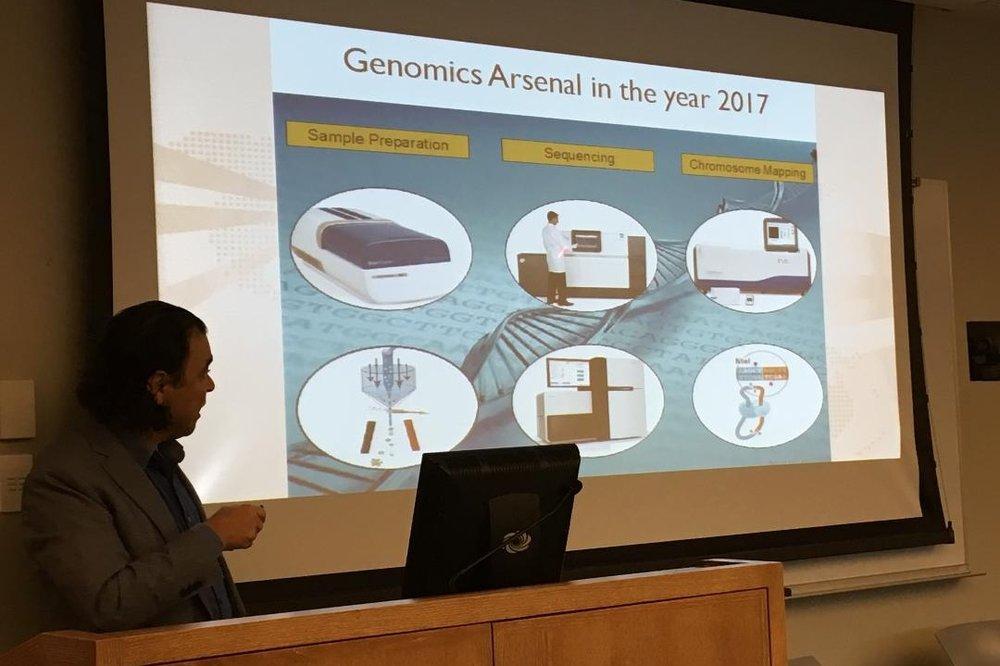 Nezih Cereb MD ,   CEO, Histogenetics -  Advances in Genomic Technologies for precision medicine