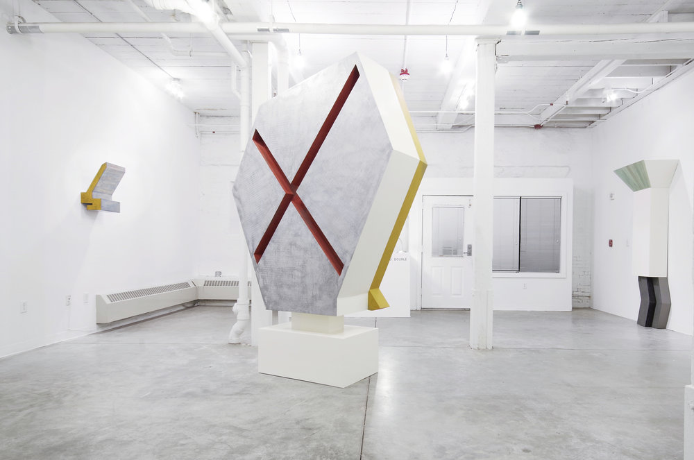 Installation view at GRIN, 2016.