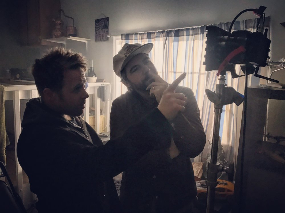"""On the set of """"CUCK"""" with director Rob Lambert"""