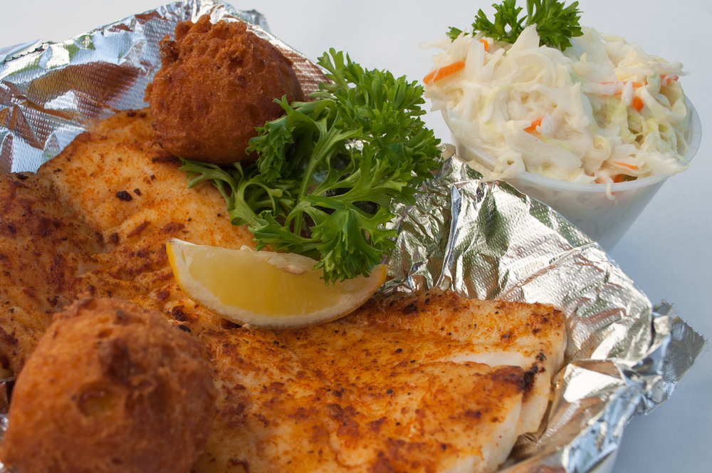 Have your fish grilled for a healthy alternative