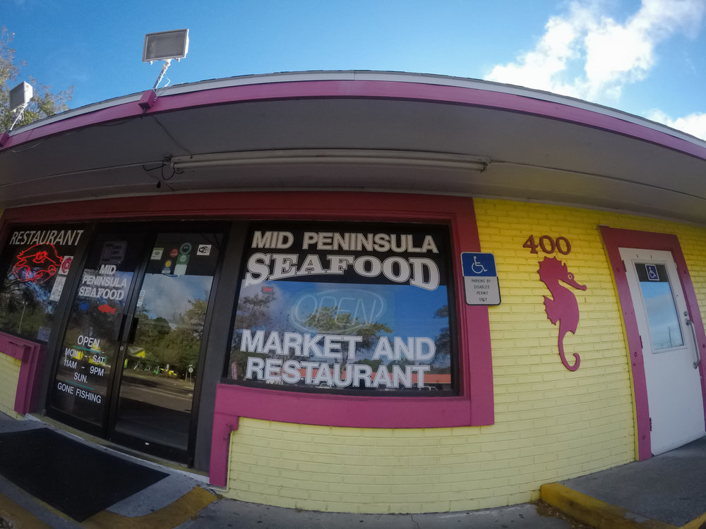 We're located at 400 49th St. S. in St. Petersburg.