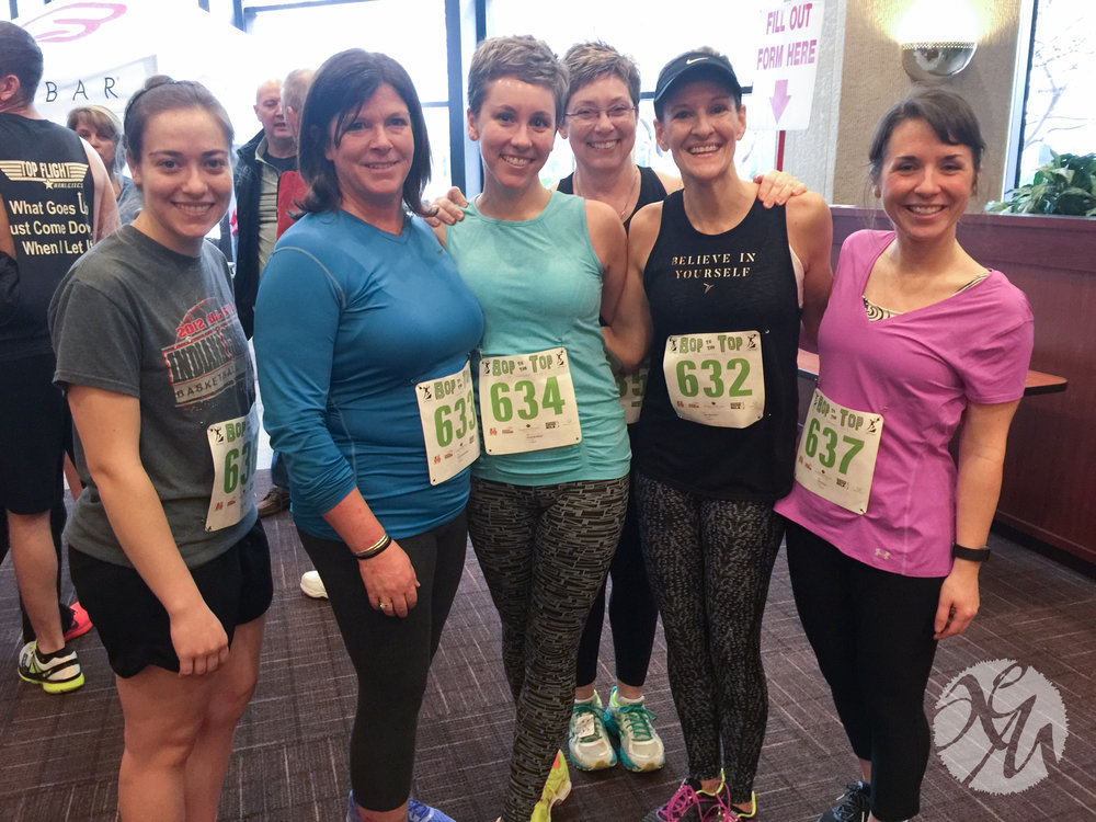 Bop to the Top 2017! I raced against my 23-year-old self up 780 steps to the 36th floor of the One America building in downtown Indianapolis.