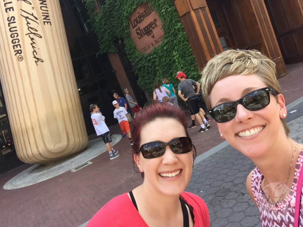 We made it! First road-trip stop: the Louisville Slugger Museum & Factory. Worth the visit!