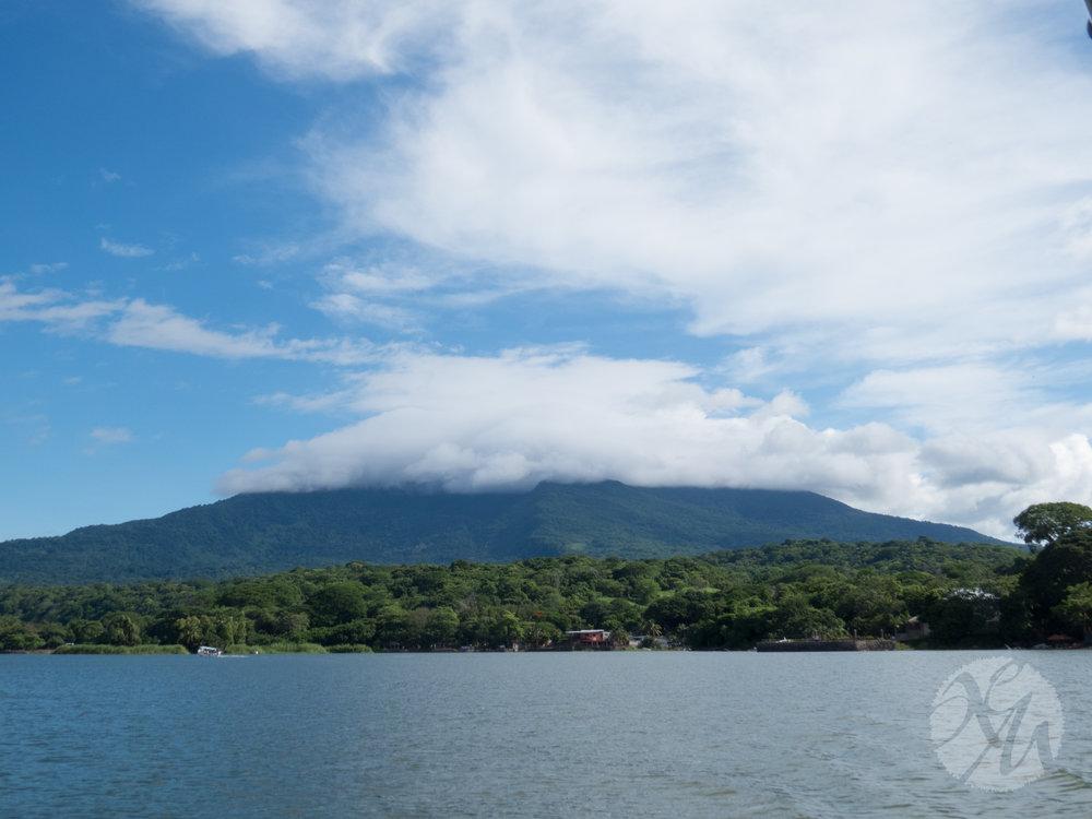 Mombacho, a quiet volcano near Granada.