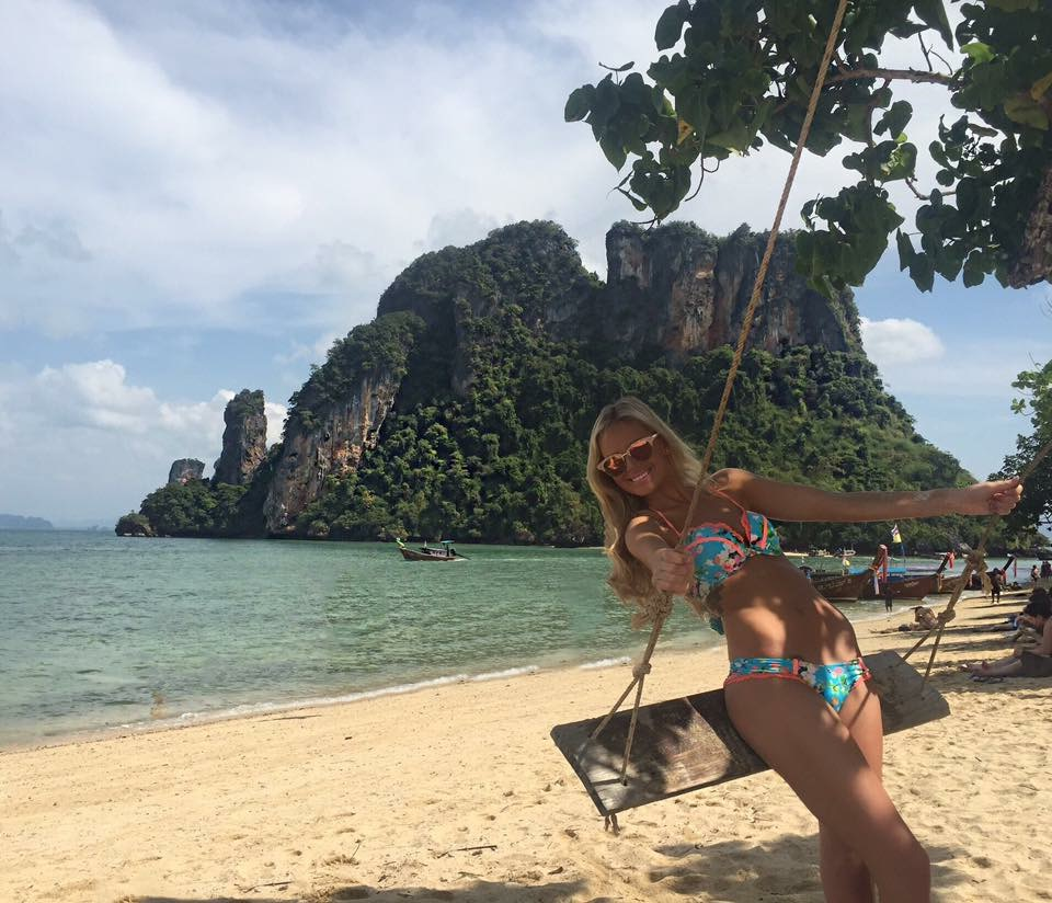 Travel Blogger Katy Johnson in Thailand