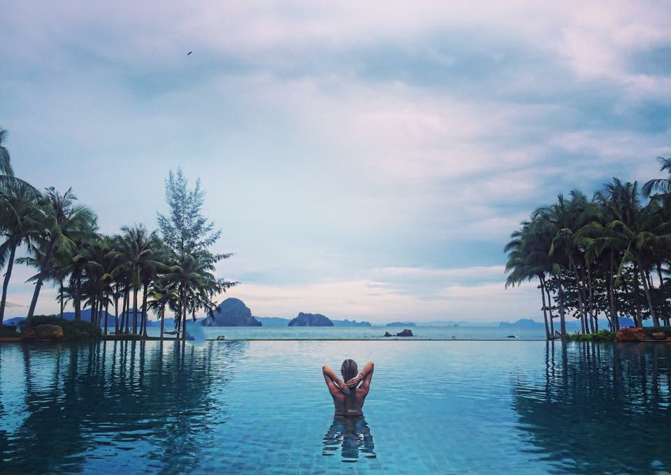 Travel Blogger Katy Johnson in Bali