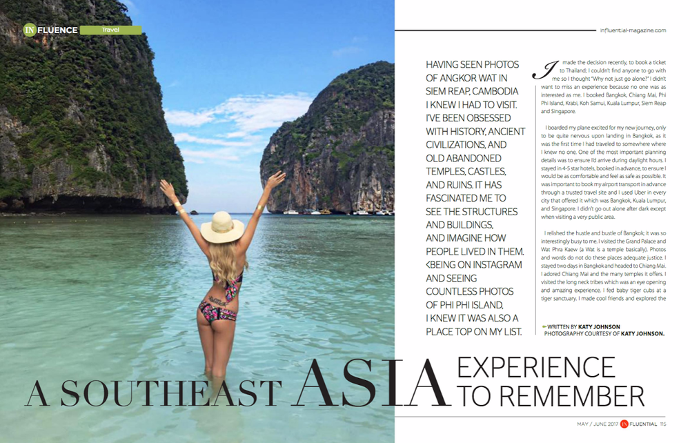 Travel Blogger Katy Johnson Goes to Southeast Asia