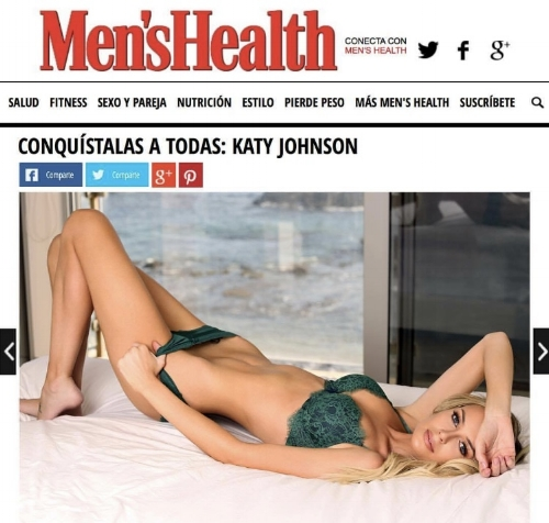 Travel Blogger Katy Johnson talks with Men's Health on One model Mission, Women's Empowerment, and True Beauty