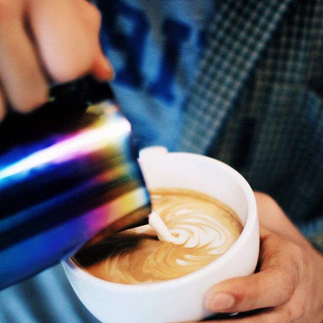 It's true, latte art doesn't make your drinks taste better. It does however mean that the espresso and milk were prepared correctly and the barista is talented and put in the effort to make your drink special. We not only have amazing coffee, we have amazing baristas too.