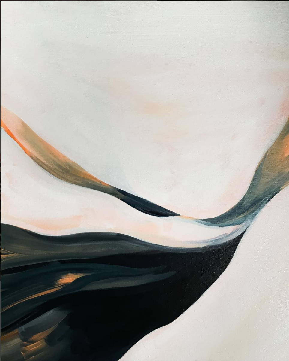 'The milky way' acrylic on canvas