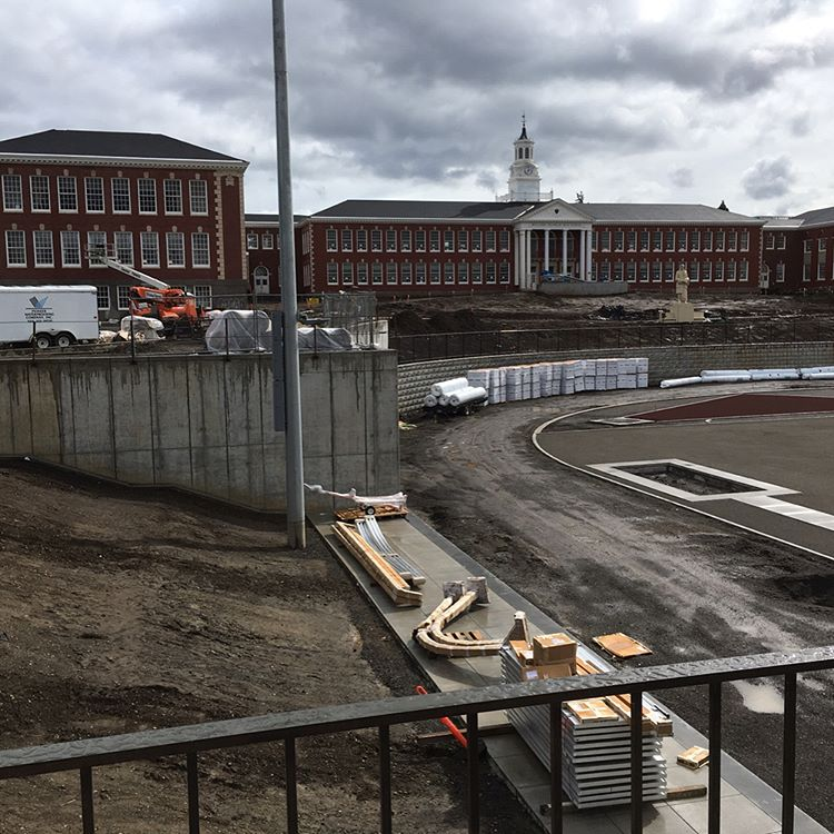 SE Portland's Franklin High School, renovated with funds from the 2012 School Bond, is set to reopen in Fall 2017.
